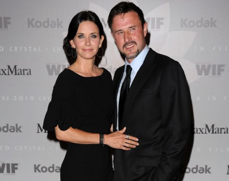 Courteney Cox Married