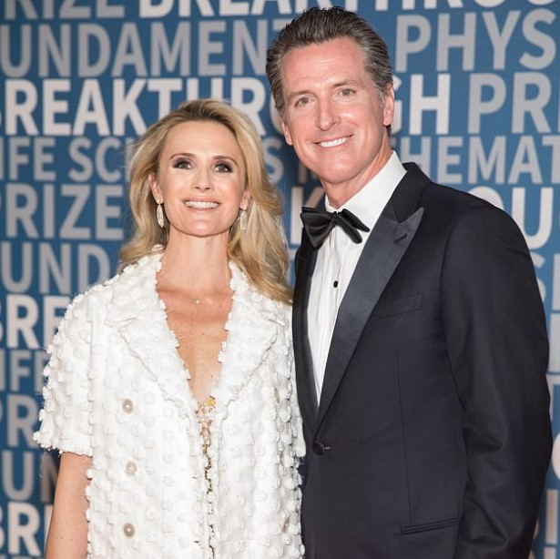 Gavin Newsom wife