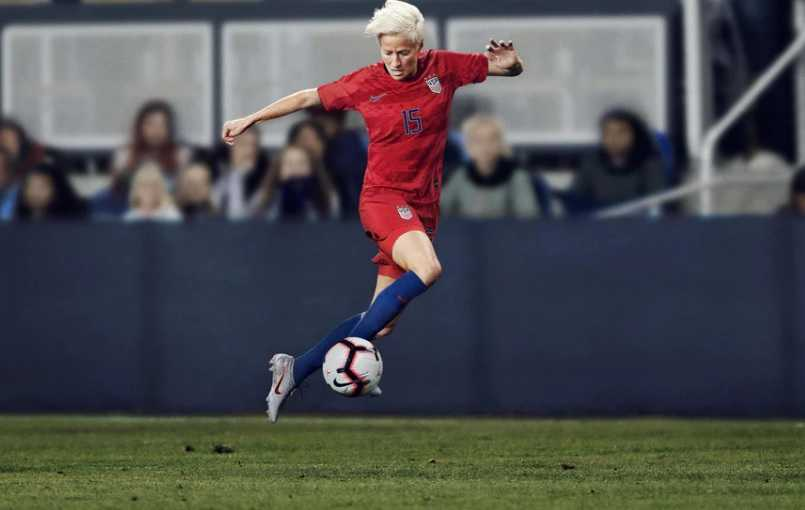 Megan Rapinoe International Career