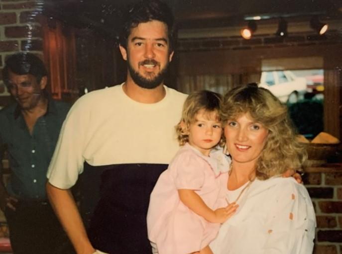 Delta Goodrem parents