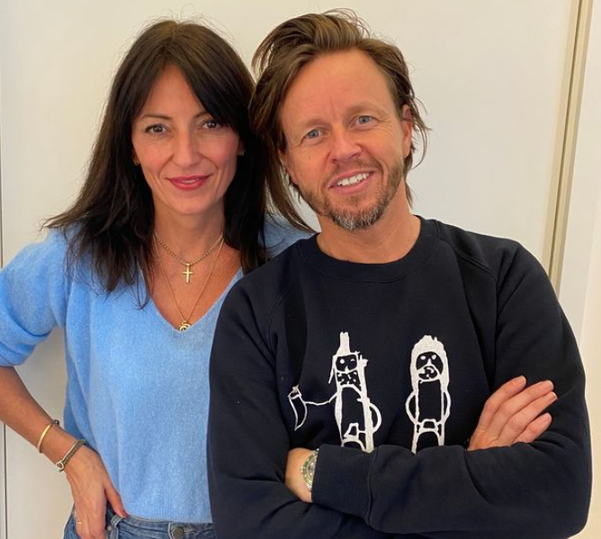 Davina McCall and her new boyfriend, Michael Douglas