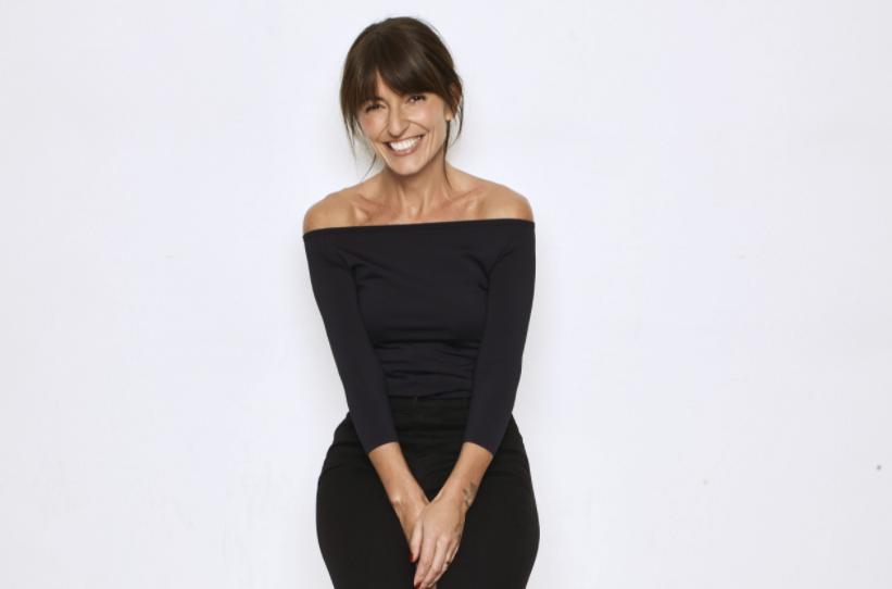 Davina McCall, presenter of the reality show 'Big Brother' (2000-2010)
