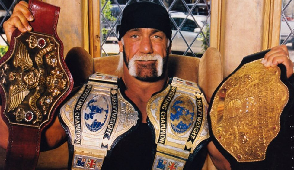Hulk Hogan With Belt
