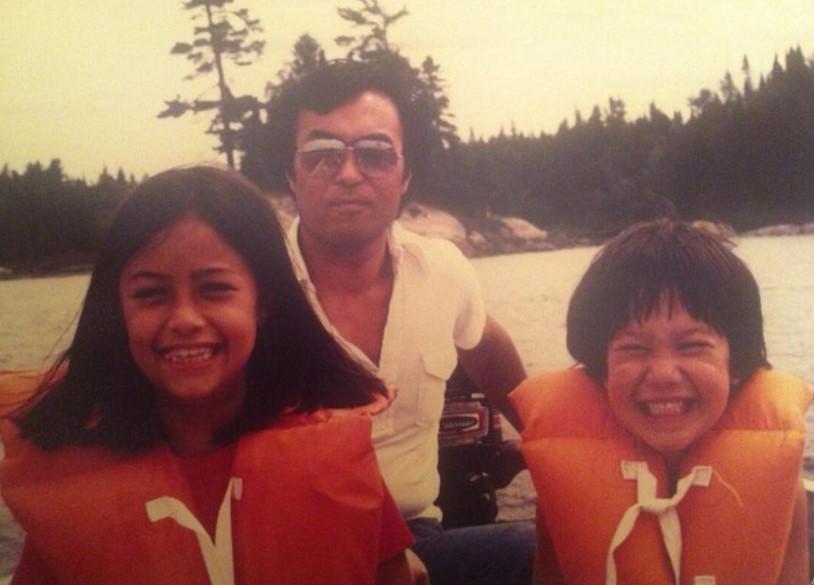 Liz Cho family