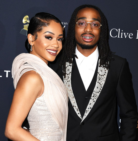 The beautiful Couple; Quavo and Saweetie