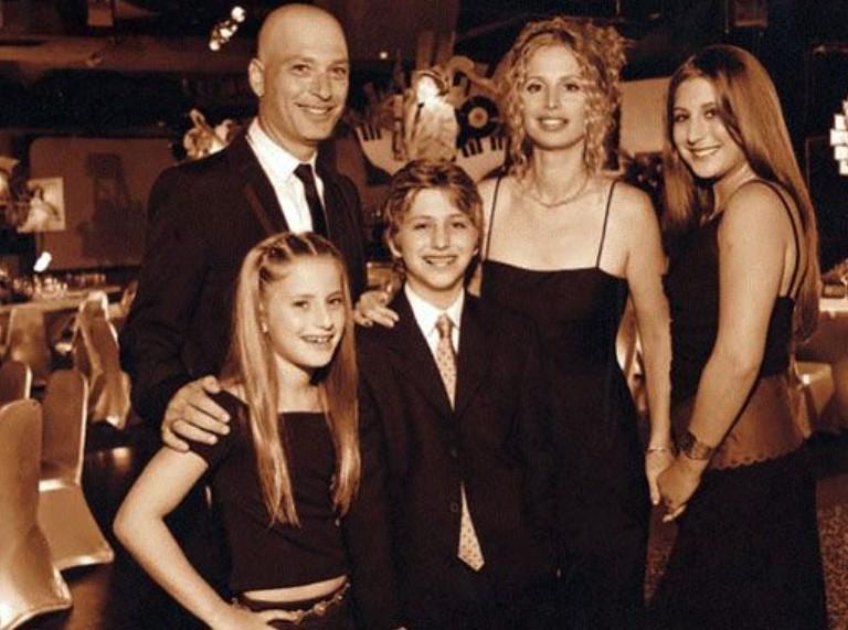 Howie Mandel family