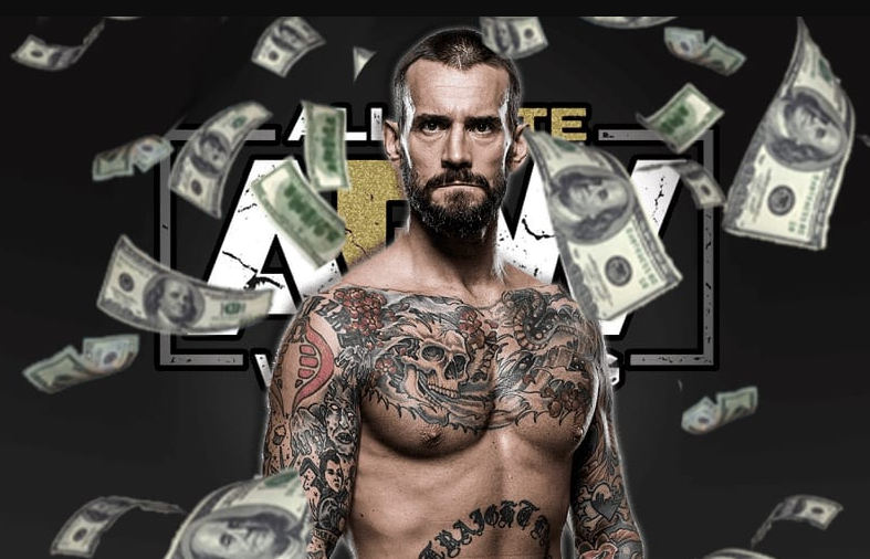 CM Punk is currently signed to All Elite Wrestling