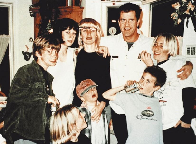 Mel Gibson Kids