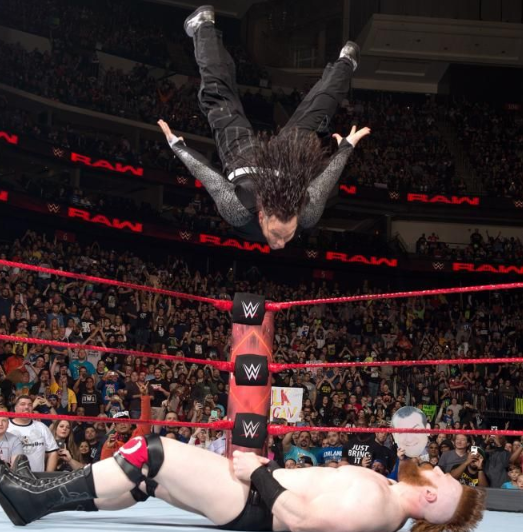 Jeff Hardy Against Sheamus