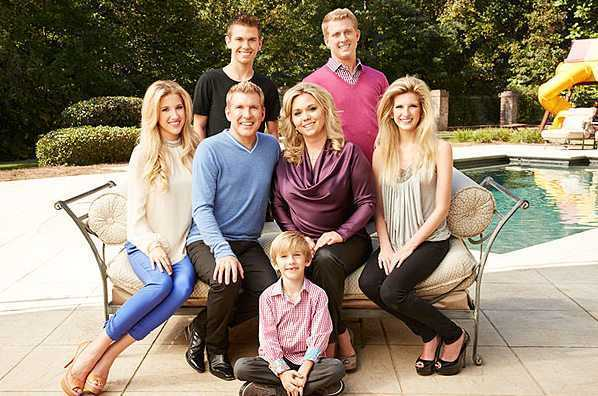 Todd Chrisley family