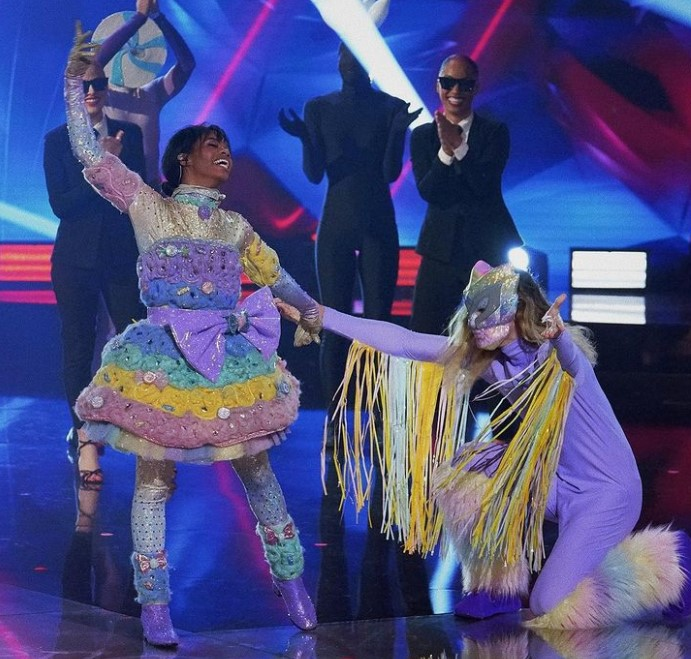 Gabby Douglas Masked Dancer
