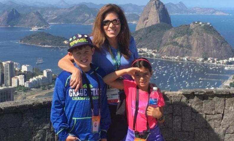 michele tafoya kids