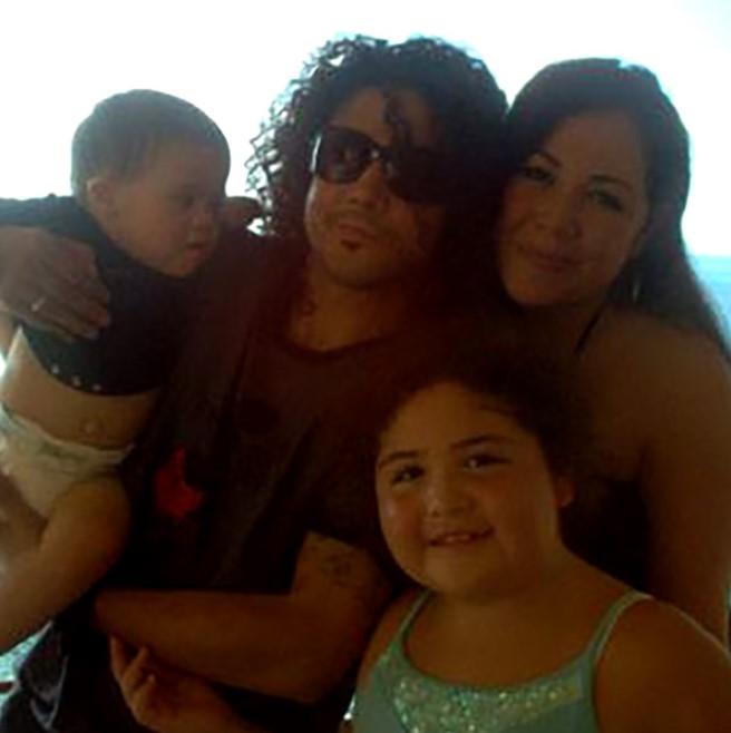 Chris Perez family