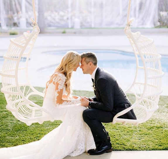 Christina Anstead and Ant Anstead Valentine