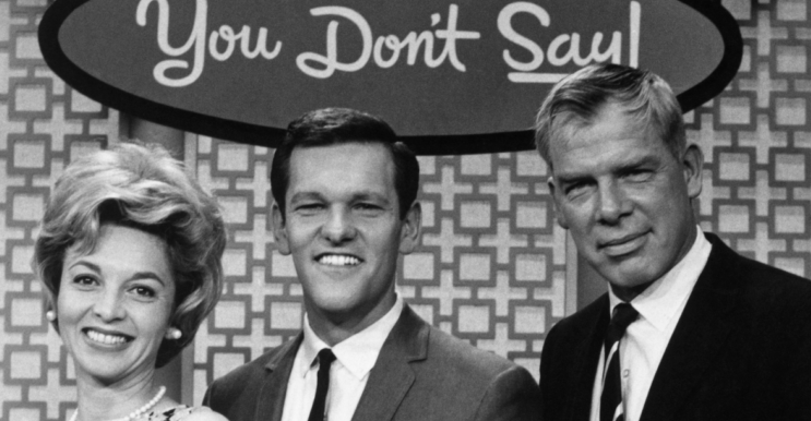 Tom Kennedy (in the middle), host of 'You Don't Say' Classic TV game show (Everett Collection)