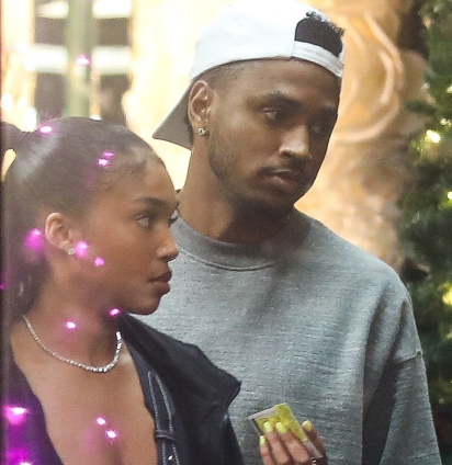 Trey Songz and Lori Harvey