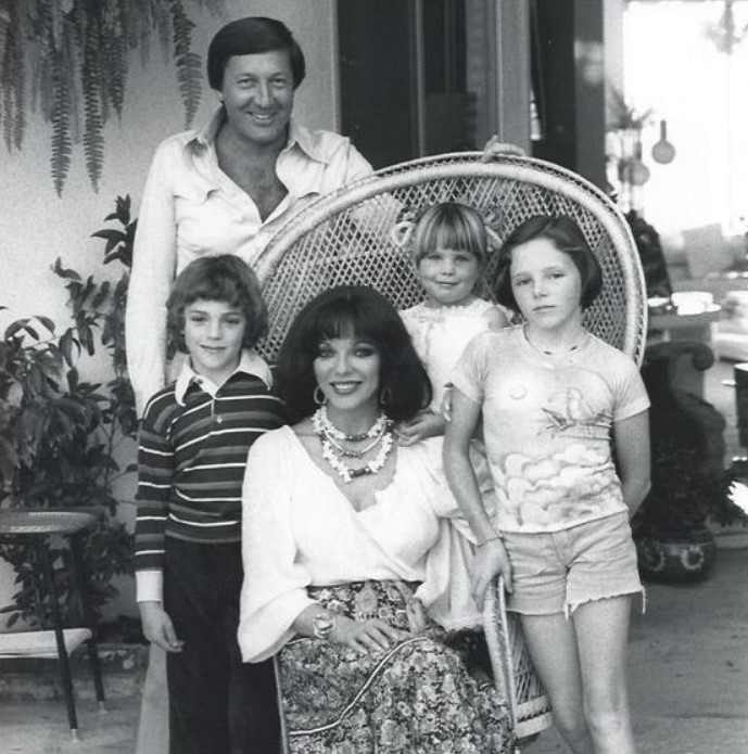 Joan Colllins husband