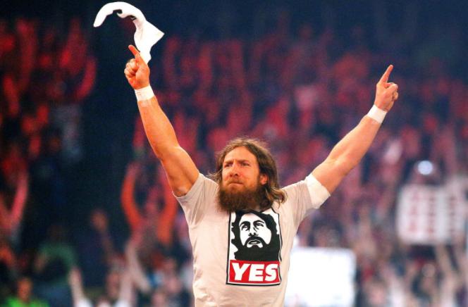 Daniel Bryan, a famous wrestler