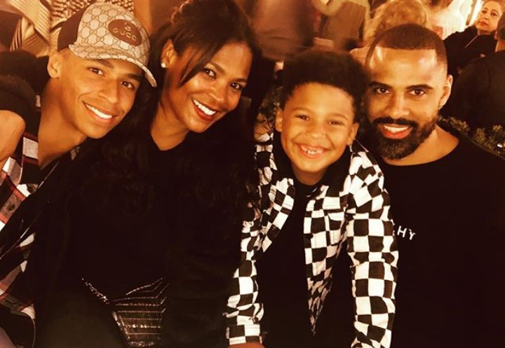 Nia Long family