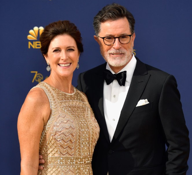 Stephen Colbert married