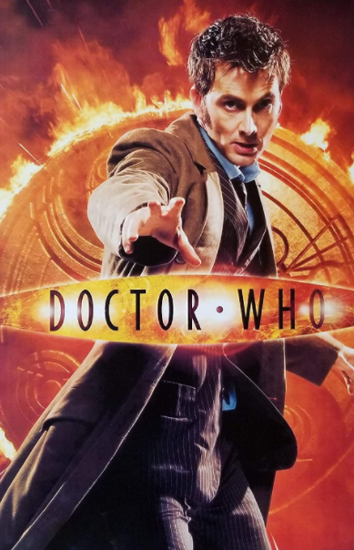 David Tennant appeared as the tenth incarnation of The Doctor in the BBC sci-fi series 'Doctor Who'
