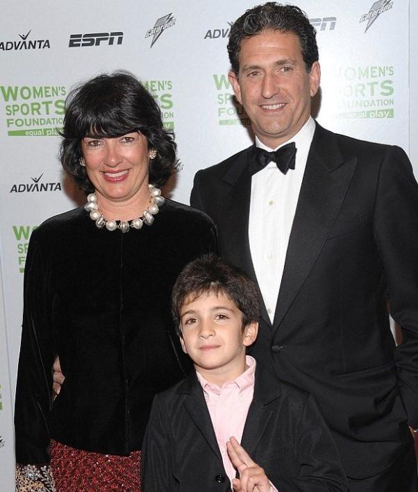 Christian Amanpour family