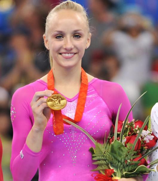 Gold Medalist Former Artistic Gymnast, Nastia Liukin