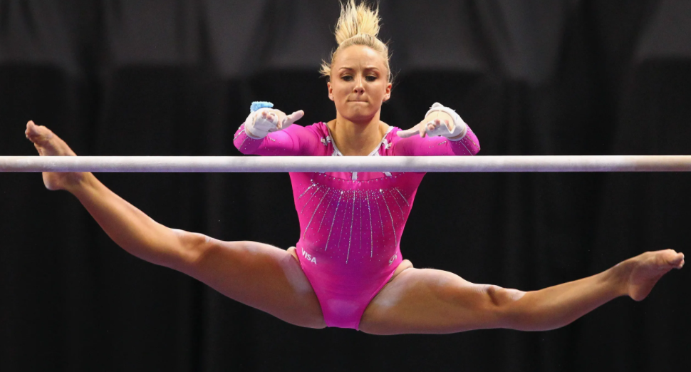 Nastia Liukin was one of the strongest junior gymnasts in the United States by 2003