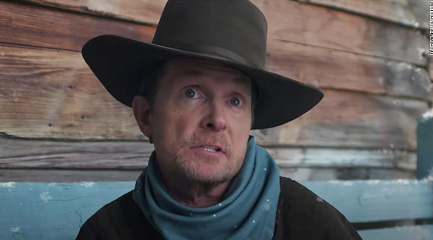 Michael J. Fox in Lil Nas X's Christmas song 'Holiday'
