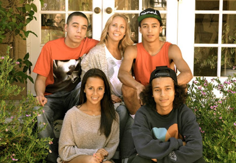 Nyjah Huston family