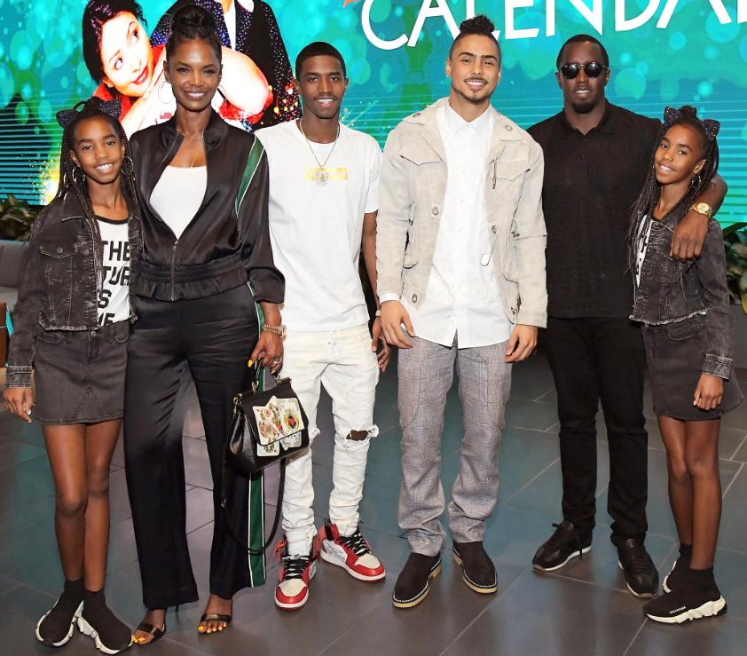 Kim Porter Diddy and Children