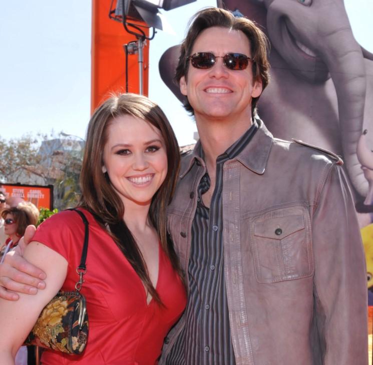 Jim Carrey daughter