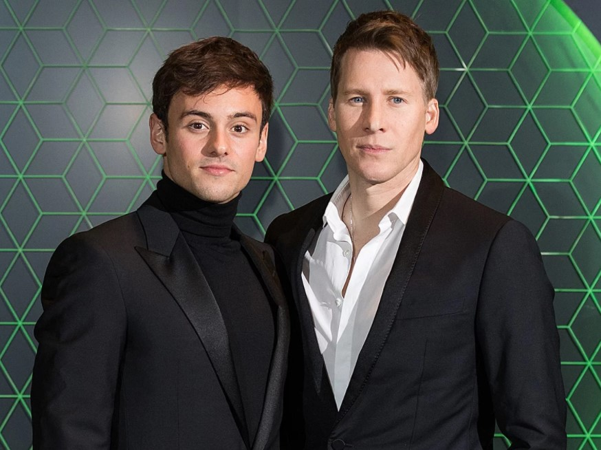 Tom Daley married