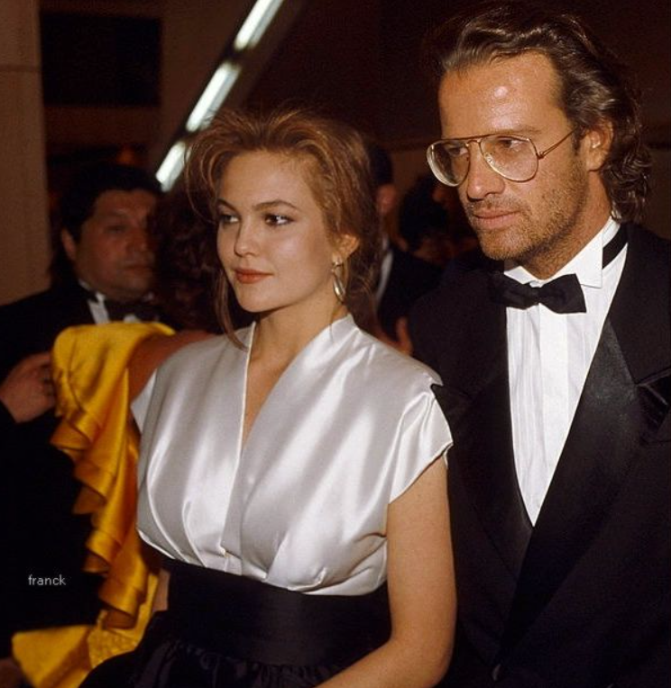 Diane lane and Christopher Lambert