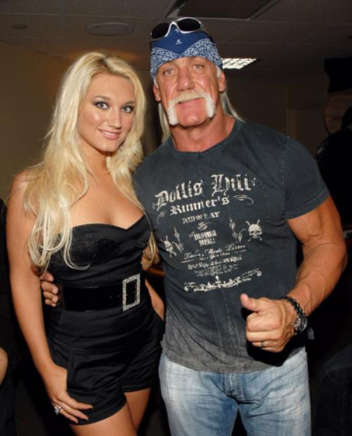 Brooke Hogan and her father, Hulk Hogan