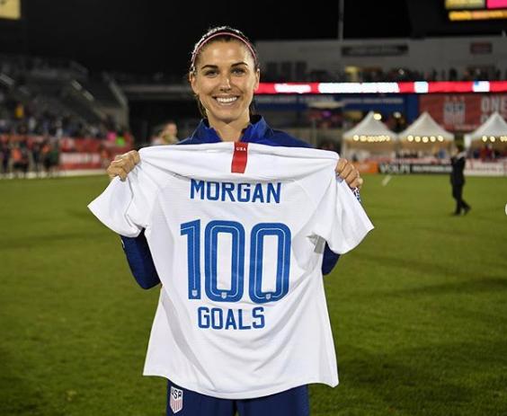 Alex Morgan 100 Goals