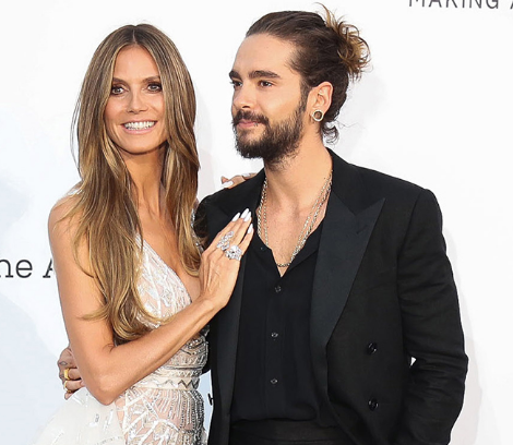 Heidi Klum and Tokio Hotel's Tom Kaulitz