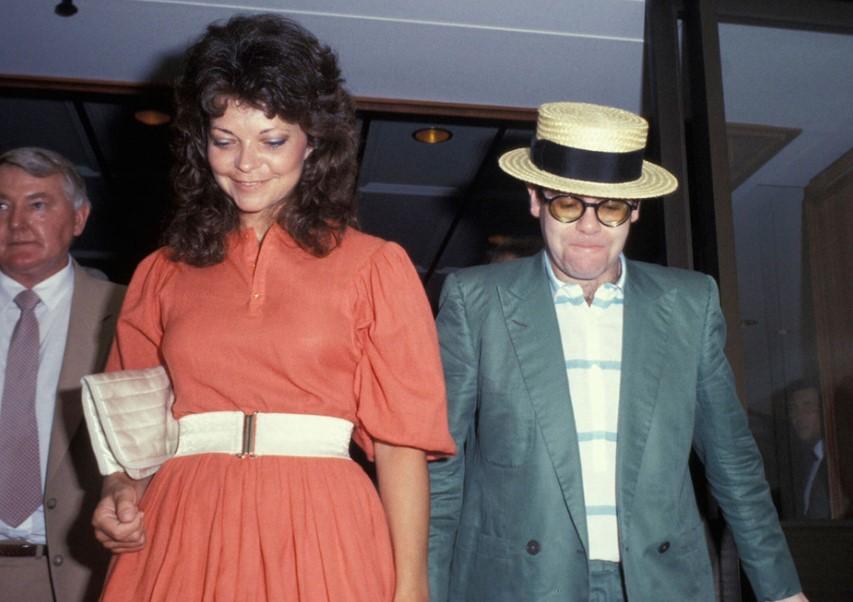 Elton John Wife
