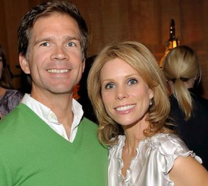 Cheryl Hines With Her Ex Husband Paul Young