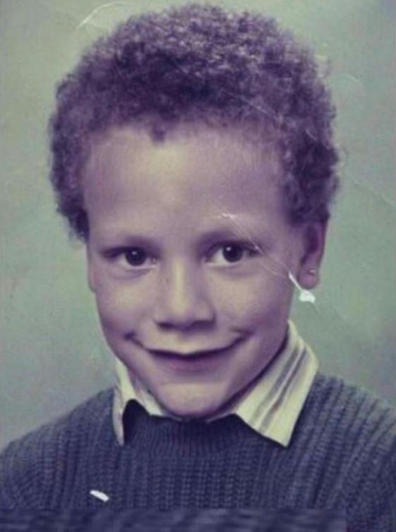 Rio Ferdinand young