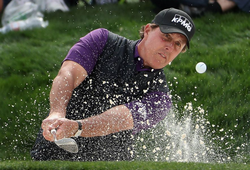 Phil Mickelson won more than 40 PGA Tour events