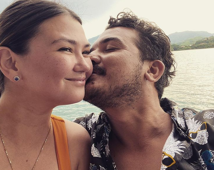 Angelica Panganiban and her boyfriend, Gregg Home