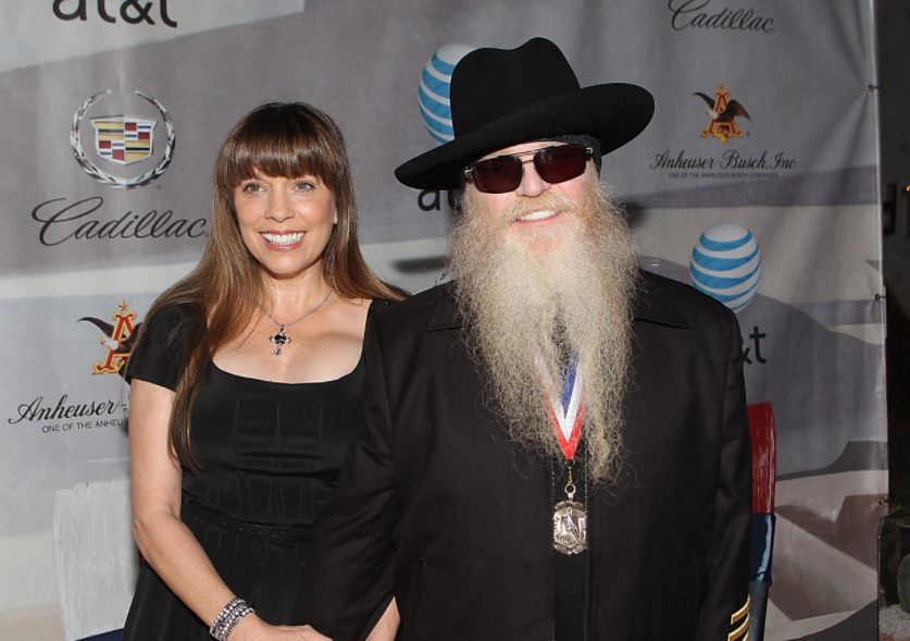 Dusty Hill and his wife, Charleen McCrory