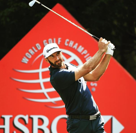 Dustin Johnson, a professional golfer