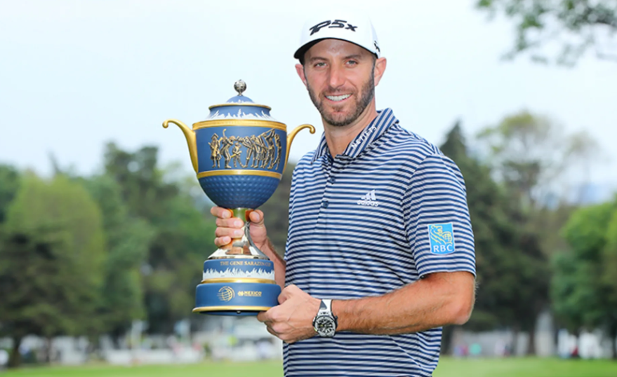 Dustin Johnson grabs 20th win at WGC-Mexico