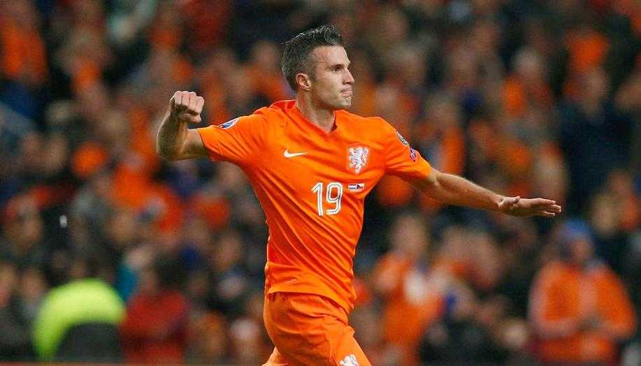 Robin van Persie Nationality