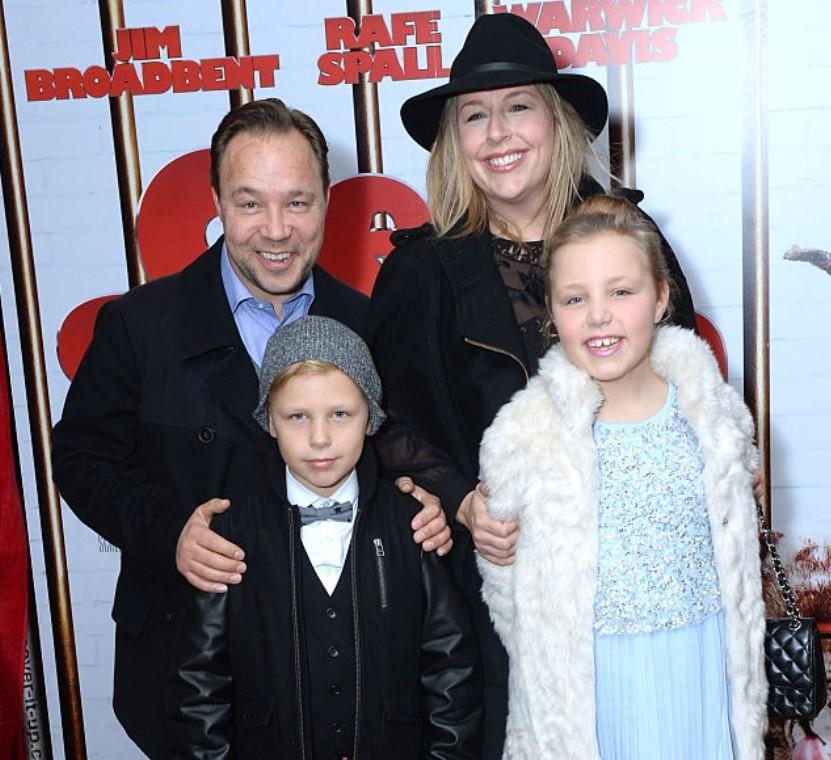 Stephen Graham family