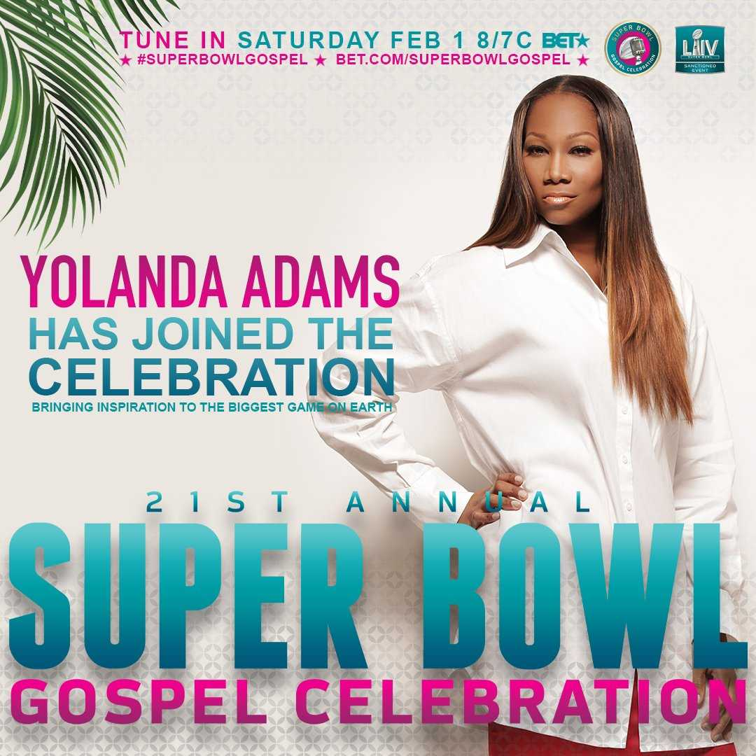 Yolanda Adams Super Bowl Gospel Celebration