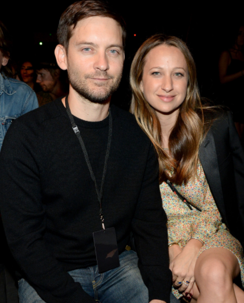 Tobey Maguire and his ex-wife, Jennifer Meyer