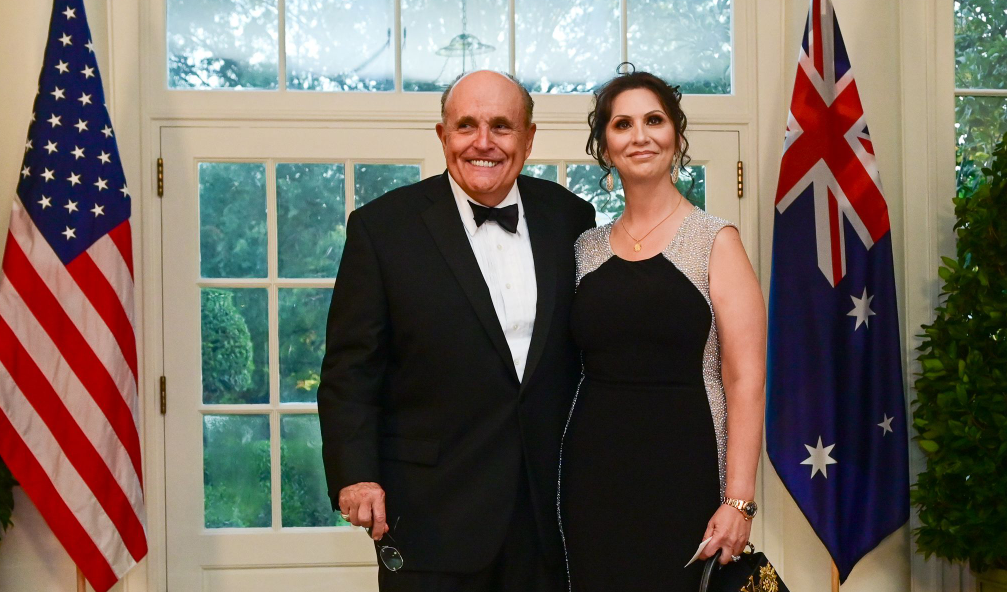 Rudy Giuliani and his girlfriend, Maria Ryan